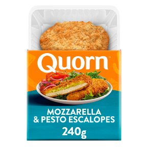 Quorn 2 Mozzarella & Pesto Escalopes