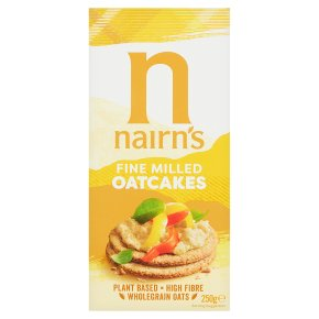 Nairn's fine milled oat cakes