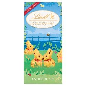 Lindt Milk Chocolate Mini Gold Bunnies