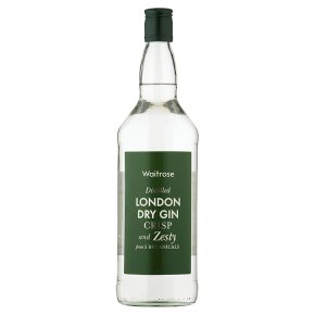 Waitrose London Dry Gin