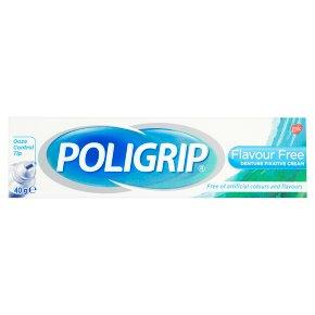 Poligrip cream flavour free fixative