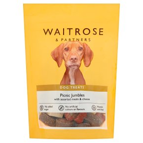 Waitrose picnic jumbles for dogs