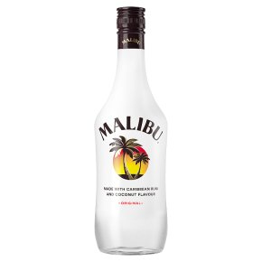 Malibu Caribbean Rum with Coconut Flavour