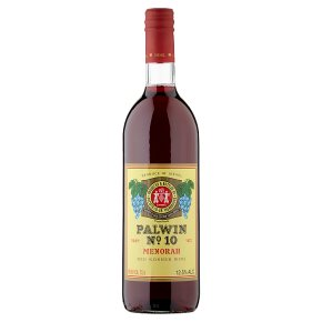 Carmel Palwin No.1 Menorah, Red Dessert Wine