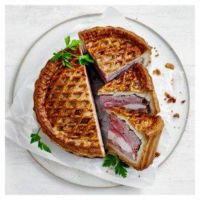 Pork, Chicken & Ham Pie