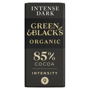 Green & Black's Dark Chocolate 85% Cocoa