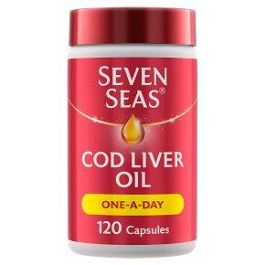 Seven Seas One-A-Day Cod Liver Oil
