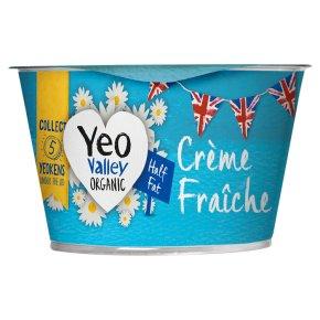 Yeo Valley crème fraîche half fat