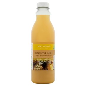 Waitrose pineapple juice