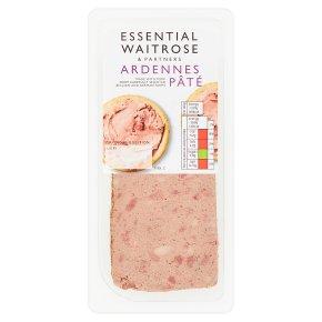 essential Waitrose Ardennes coarse pork liver pâté
