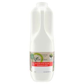 Waitrose Duchy Skimmed Milk