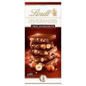 Lindt dark chocolate with hazelnut