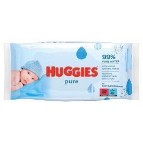 Huggies Pure Baby Wipes, Single pack