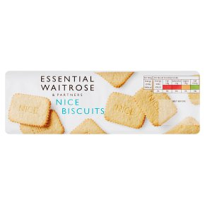 essential Waitrose nice biscuits