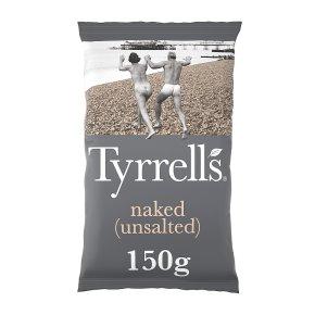 Tyrrells naked no-salt potato chips
