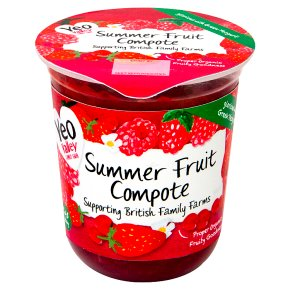 Yeo Valley organic summer fruits compote