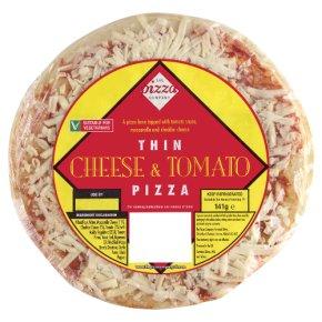The Pizza Company thin cheese & tomato pizza