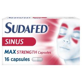 Sudafed, blocked nose & sinus capsules