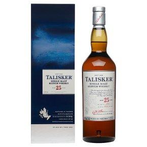 Talisker single malt 25 years old