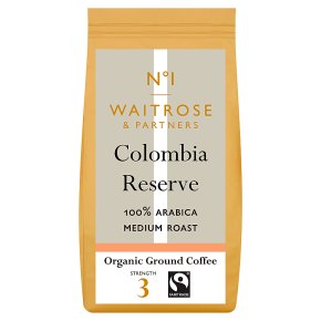 No.1 Colombian Reserve Ground Coffee