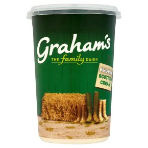 Graham's fresh Scottish whipping cream