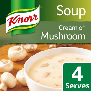 Knorr cream of mushroom dry soup