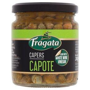 Fragata Spanish capotes capers