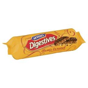 McVitie's caramels milk chocolate digestives