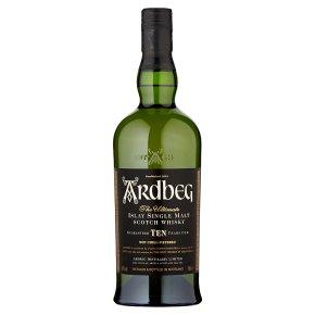 Ardbeg single malt scotch whisky 10yr