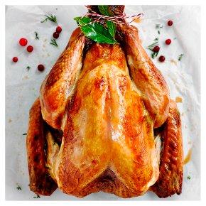 Free Range Bronze Feathered Turkey