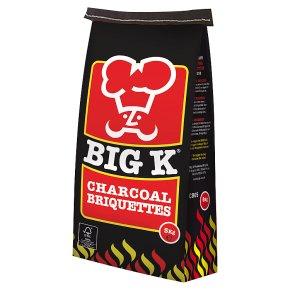 Big K Charcoal Briquettes, 5KG