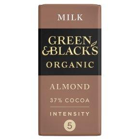 Green & Black's organic almond milk chocolate bar