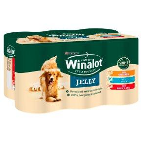 Winalot Tinned Dog Food Mixed In Jelly
