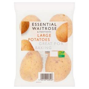 essential Waitrose baking potatoes