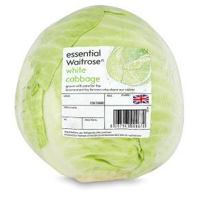 essential Waitrose white cabbage
