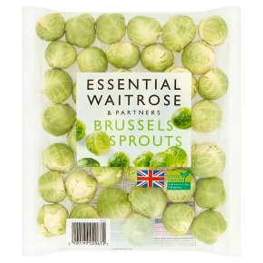 essential Waitrose brussels sprouts