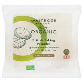 Waitrose Duchy Organic 4 baking potatoes