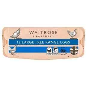 Waitrose Eggs British Blacktail Free Range Large