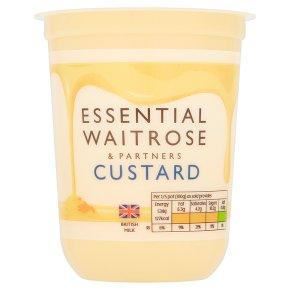 essential Waitrose fresh custard