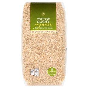 Waitrose Duchy Brown Basmati Rice