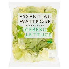 essential Waitrose iceberg lettuce