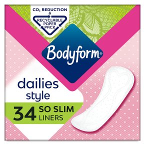 Bodyform Daily Fresh Liners So Slim Wrapped