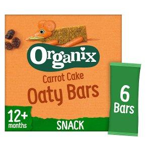 Organix carrot cake cereal bars