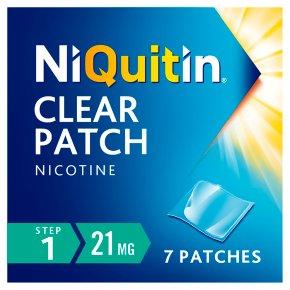 NiQuitin CQ Clear step 1 patches