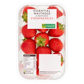 essential Waitrose strawberries