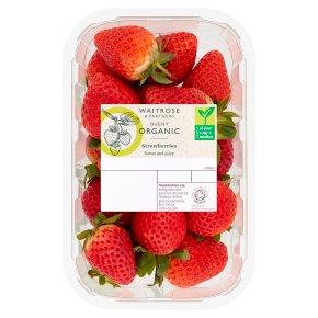 Waitrose Duchy Organic strawberries