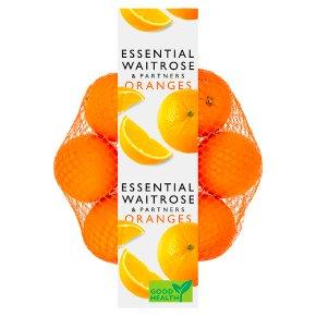 essential Waitrose oranges