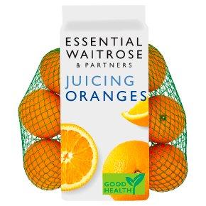 essential Waitrose juicing oranges