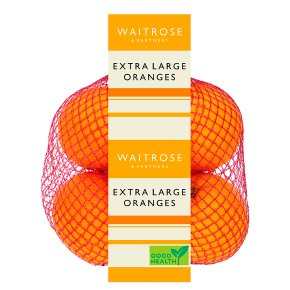 Waitrose extra large oranges