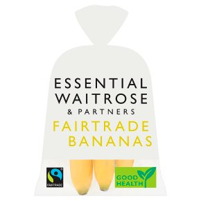 essential Waitrose Fairtrade Bananas
